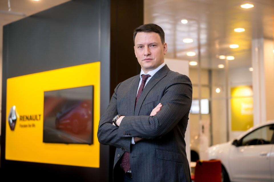 Управляющий директор автохолдинга «Дакар» Денис Иванов. Фото: Владимир Убушиев.