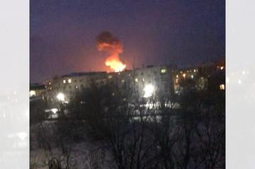 Пожар на пороховом заводе в Перми 28 января 2021 года: троих пострадавших увезли в ожоговый центр