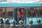 В Красноярске несанкционированный митинг завершился задержаниями