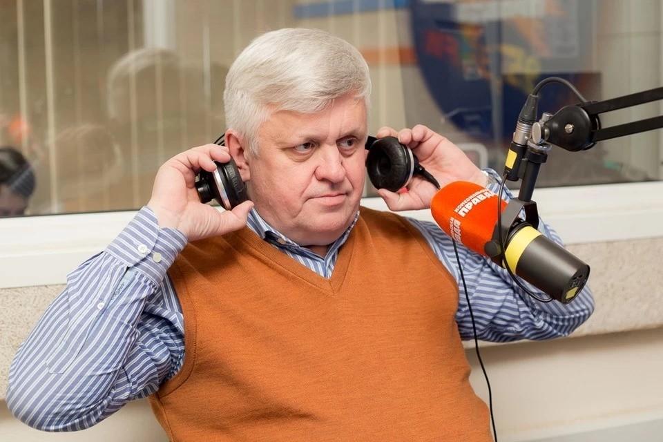 Андрей Косилов на радио «Комсомольская правда» (95,3 FM)