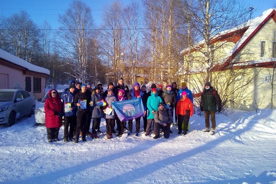 Вот уже третий год подряд они проводят Снежный забег. Фото: Личный архив Анастасии Кашатановой
