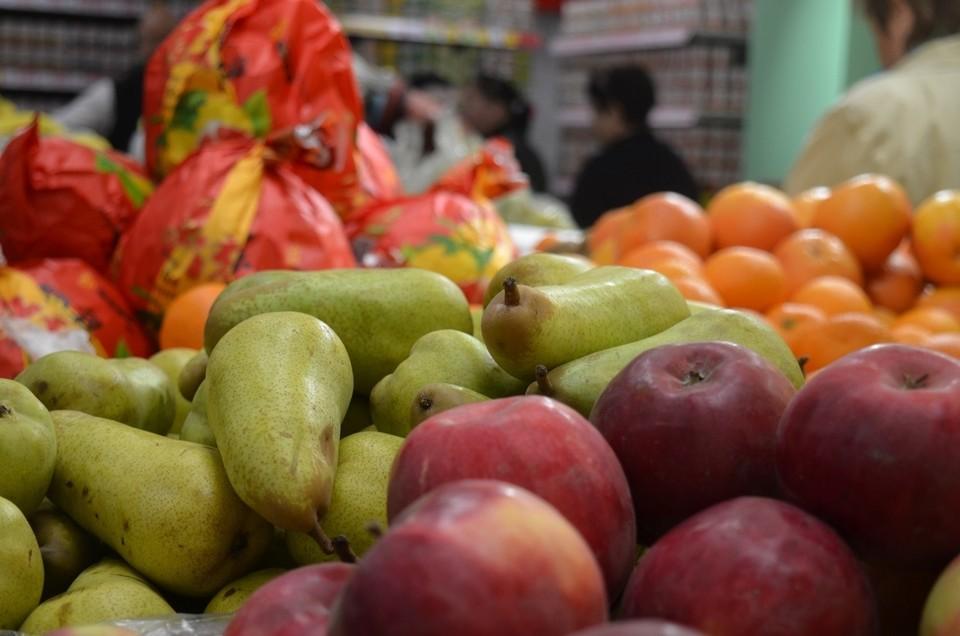 В Орловской области подорожали овощи и фрукты