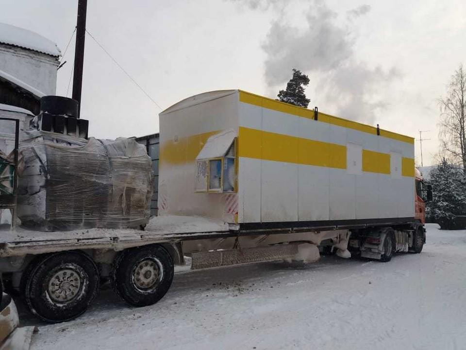 Вагон-дом-морг на колесах используют для содержания тела перед похоронами Фото: Ирина Питолина, https://vk.com/wall-102222453_1393