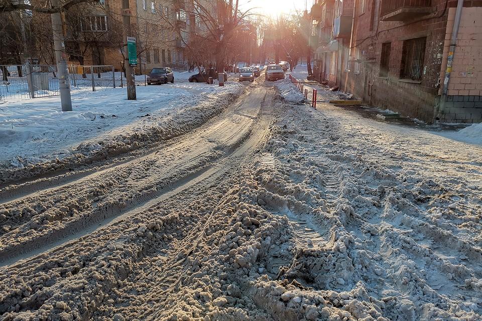 Проверка качества уборки снега коммунальными службами будет продолжена