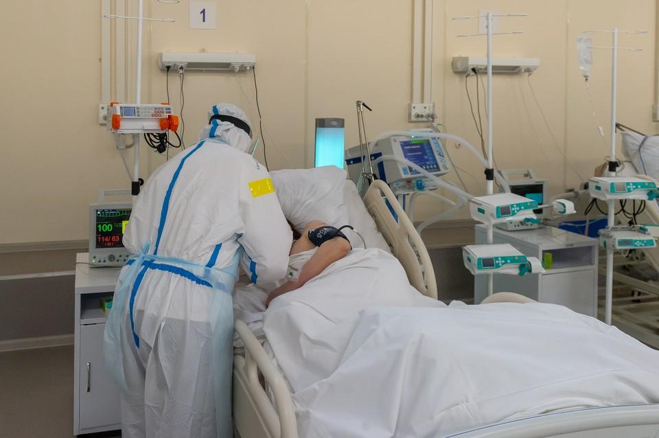 По неизвестным причинам в больнице был временный сбой в подаче кислорода на 12 минут
