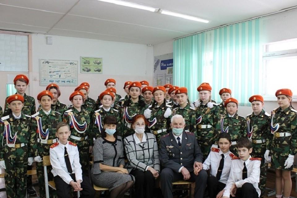 Для школьников Комсомольска-на-амуре прошел «Урок мужества»