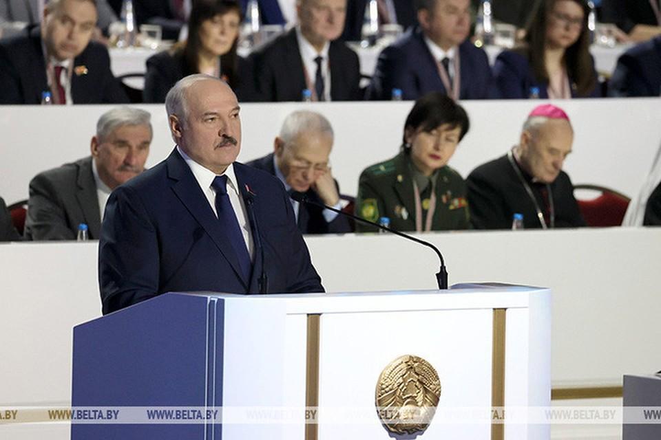 Лукашенко заявил, что ВНС должно иметь конституционные полномочия. Фото: БелТА