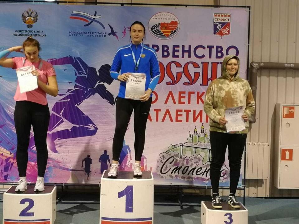 На соревнованиях этой возрастной категории спортсменка из Свободного выступала впервые. Фото: министерство спорта Амурской области