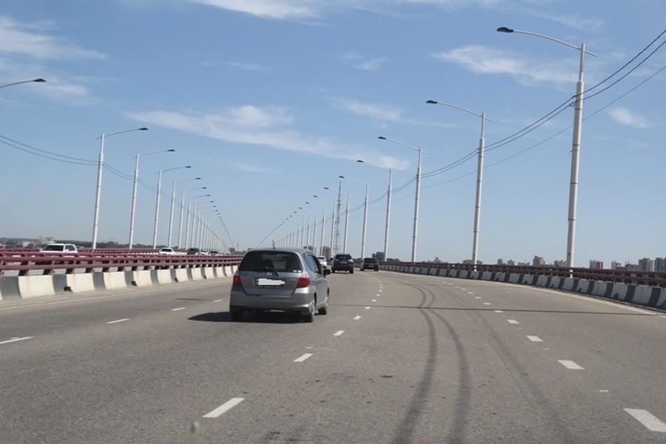 Скоростные ограничения введут на Академическом мосту в Иркутске с 26 февраля