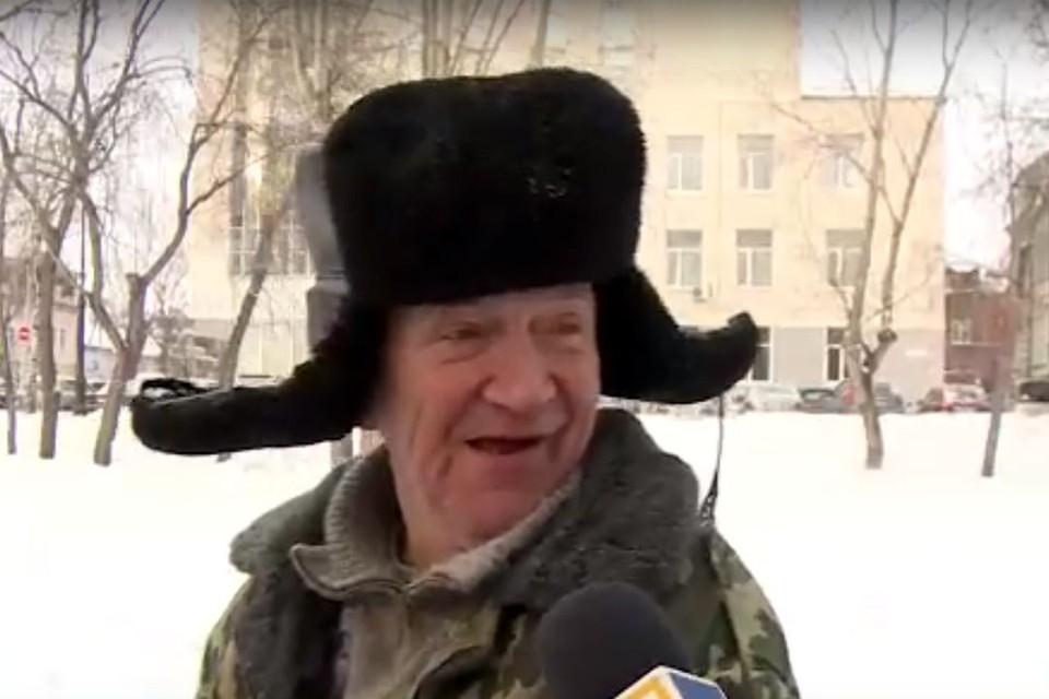 Дед Виталий попросил прощения у бывшей жены. Фото: ТВ2.