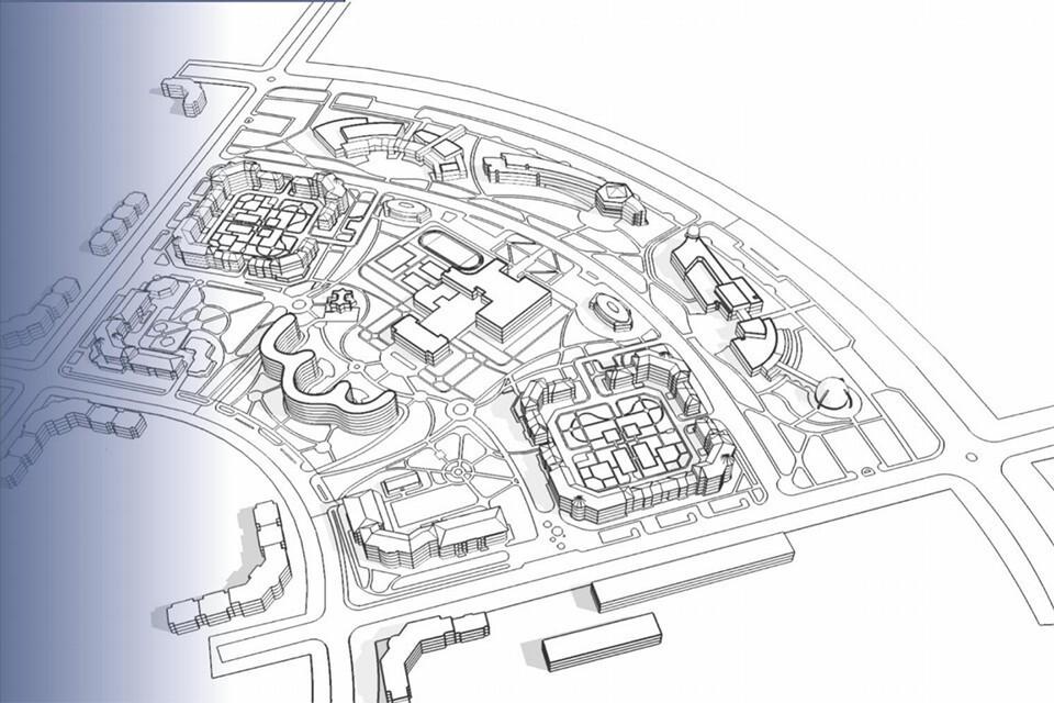Реновация Больничного городка в Мурманске, о которой начали говорить в прошлом году, находится на стадии обсуждения концепции. Фото: Geonika. Агенство по развитию территорий