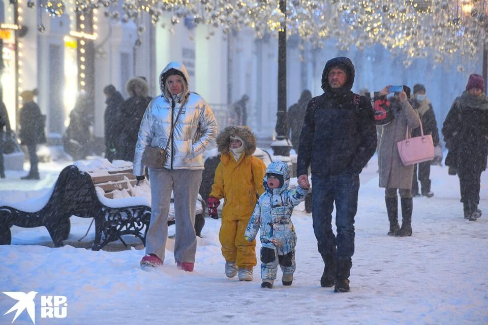 Синоптики: после рекордных снегопадов в Москве ударит мороз
