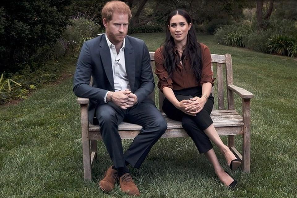 Гарри и его жена Меган Маркл отказались от королевских обязанностей и переехали в США