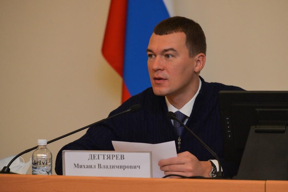 В Кремле сообщили о встрече президента РФ и Михаила Дегтярева