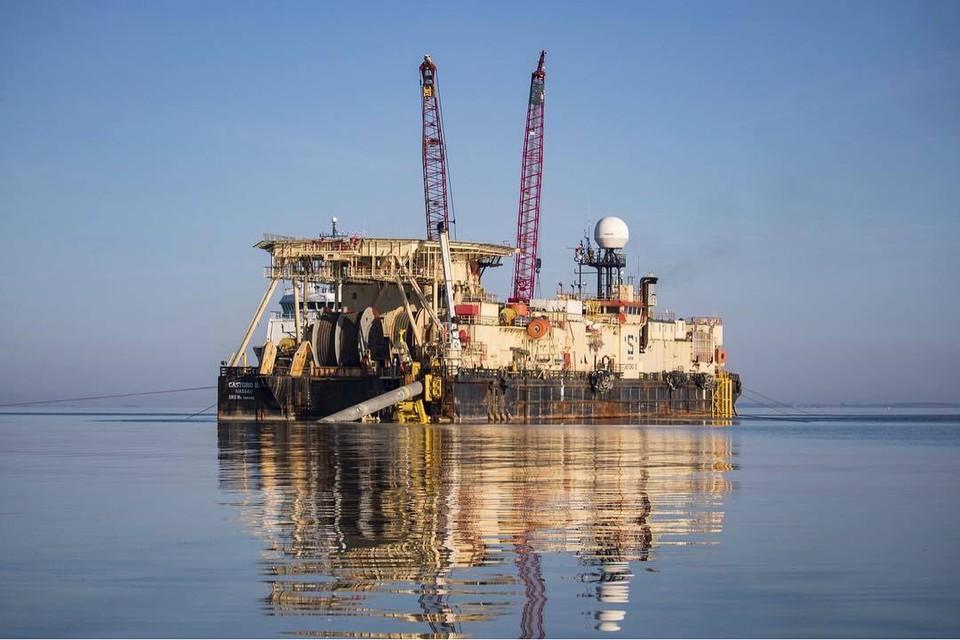 """Строительство """"Северного потока-2"""" планируется завершить в апреле 2021 года."""