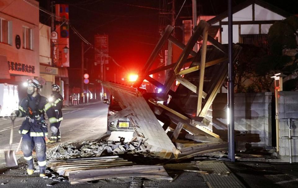 На северо-востоке Японии произошел новый афтершок магнитудой 5,3.