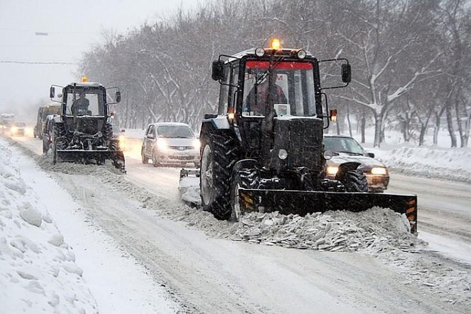 В Подмосковье уборка дорог от снега завершится не позднее 18 февраля