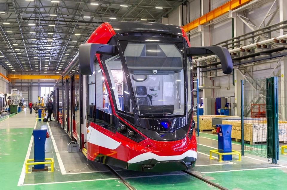 Такие трамвае планируется поставлять по всей стране