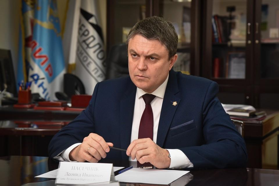 Глава Республики сделал заявление. Фото: glava-lnr.info