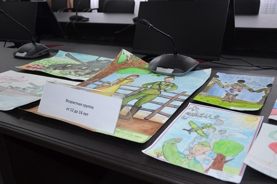 Конкурс детских рисунков прошел в Хабаровском крае