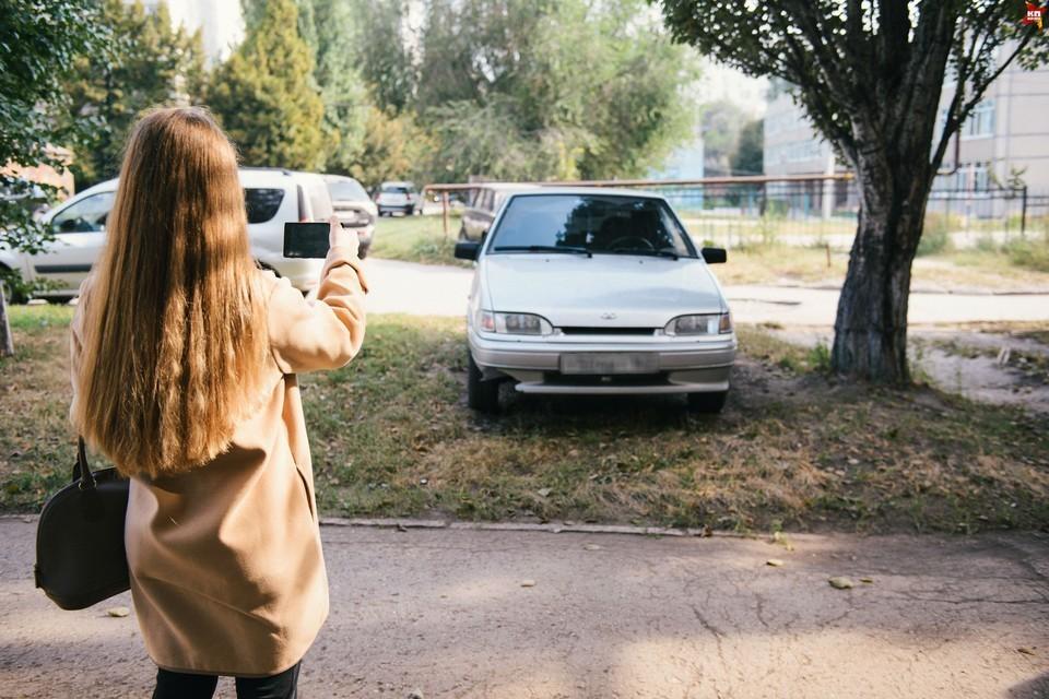 Автомобилиста, который неправильно припарковал свое авто, серьезно оштрафуют