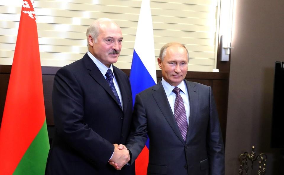 Путин и Лукашенко встретятся 22 февраля.