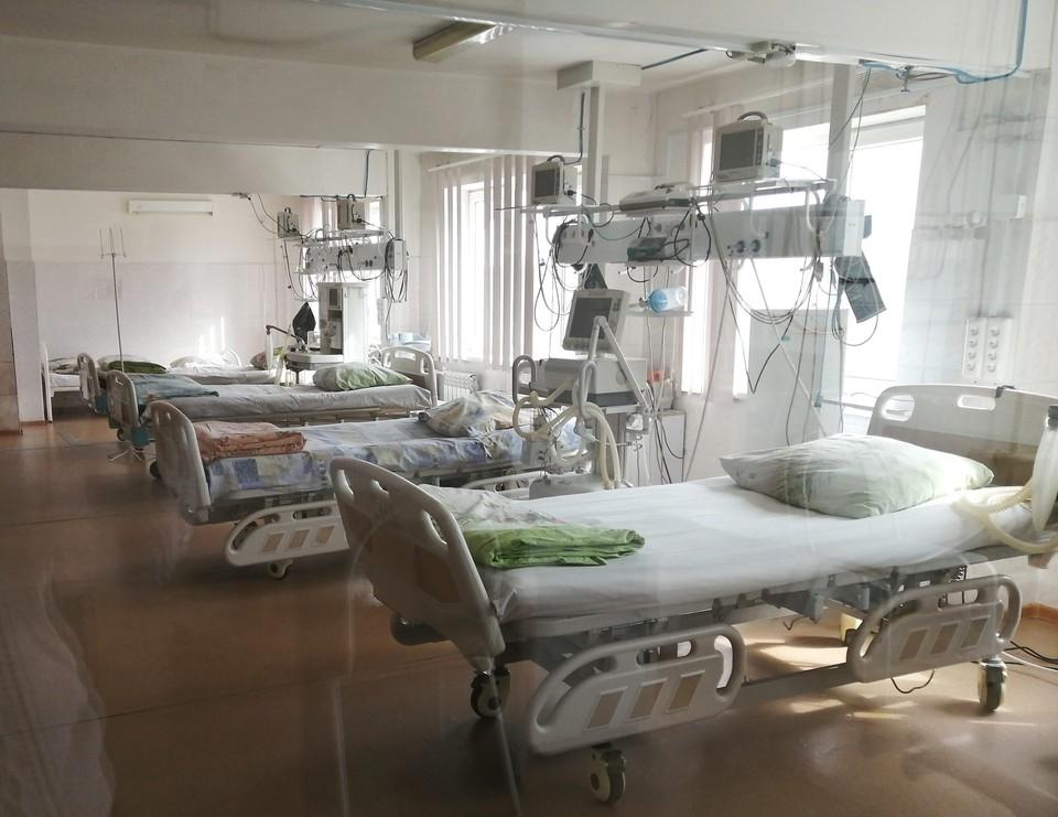 Все больше кроватей в госпиталях пустуют. Фото: минздрав Амурской области