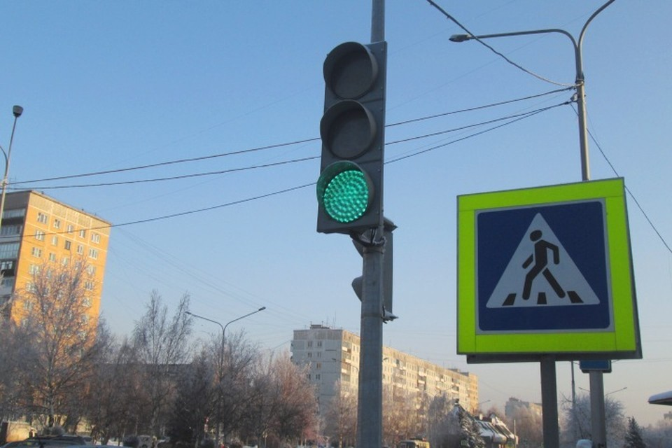 В Кемерове изменят схему работы светофором