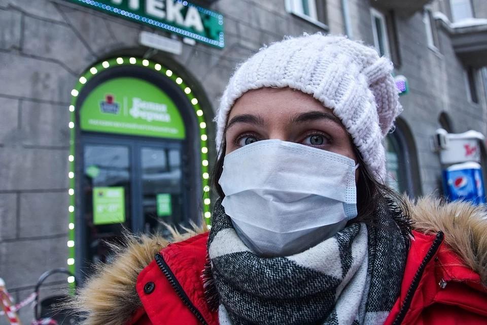 В России выявили 12 953 новых случая коронавируса