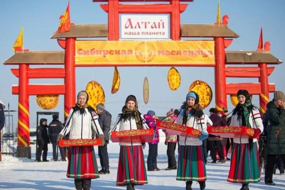 """Фестиваль """"Сибирская масленица"""" будет проходить 13 марта."""