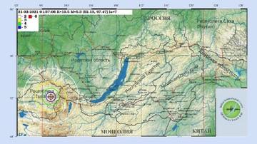 Землетрясение в Иркутске 21 февраля 2021: эпицентр находился в республике Тыва