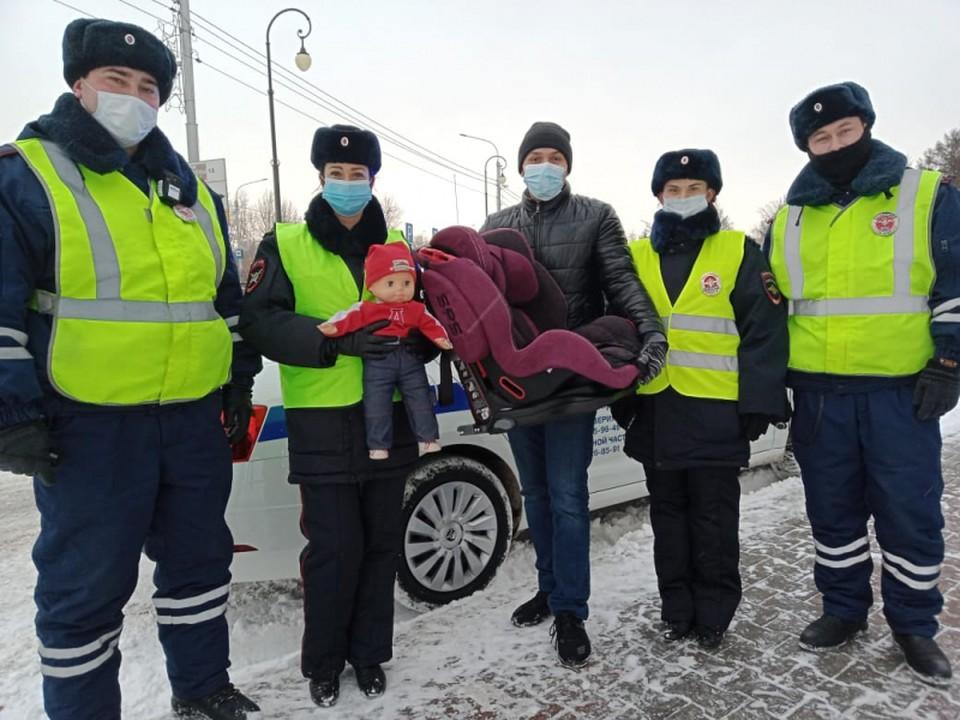 Автоинспекторы в Красноярске выбрали лучших «автопап»