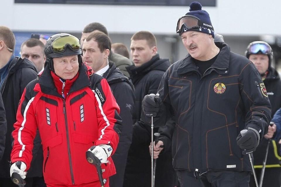Лукашенко с Путиным сегодня покатаются на горных лыжах в Сочи? Фото носит иллюстративный характер. Фото: РБК.
