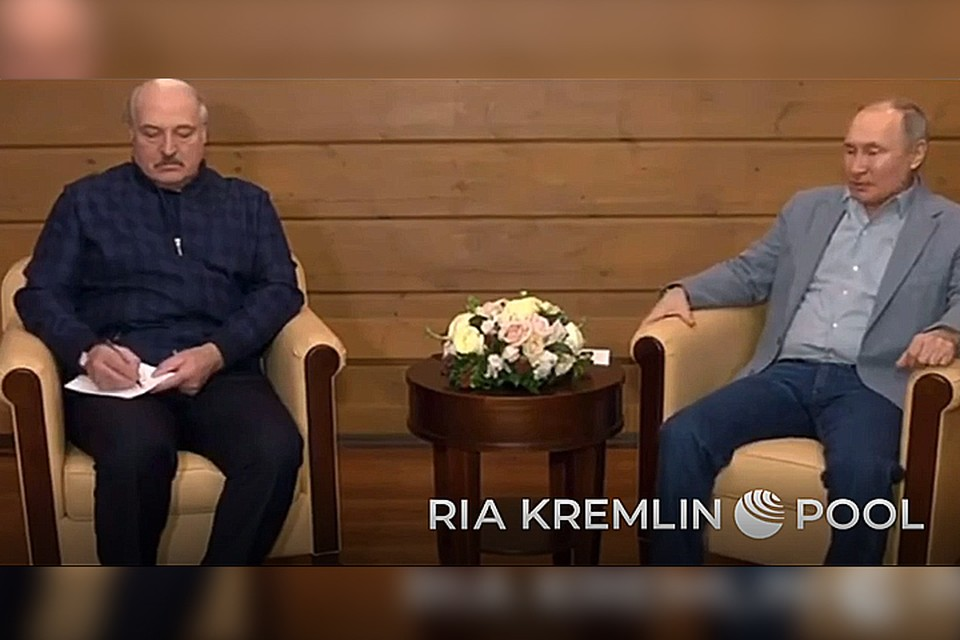 Переговоры Лукашенко и Путина в Сочи: что известно к этому часу.