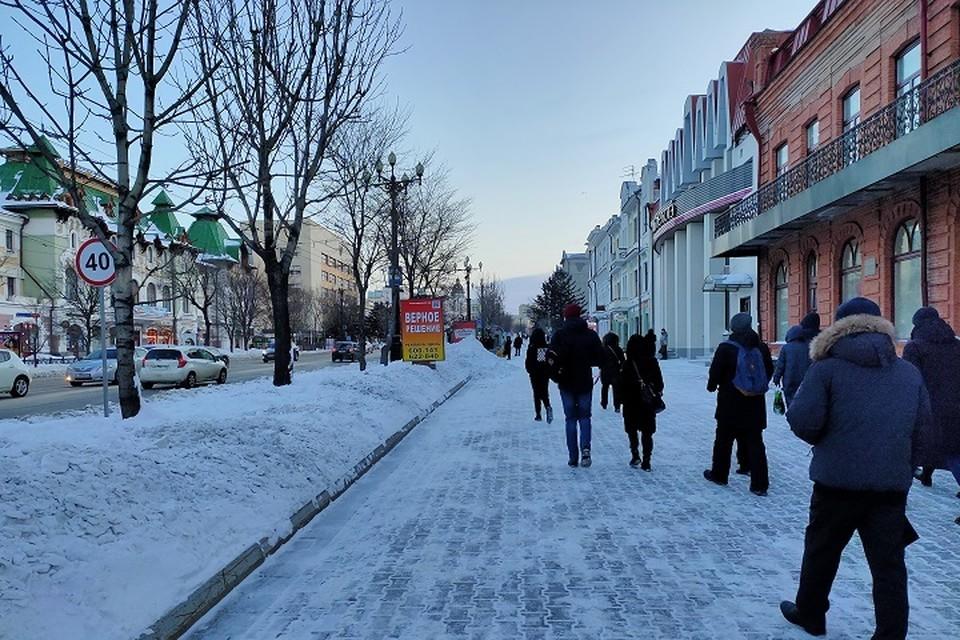 Обстановка в Хабаровском крае на 23 февраля: погода, пожары