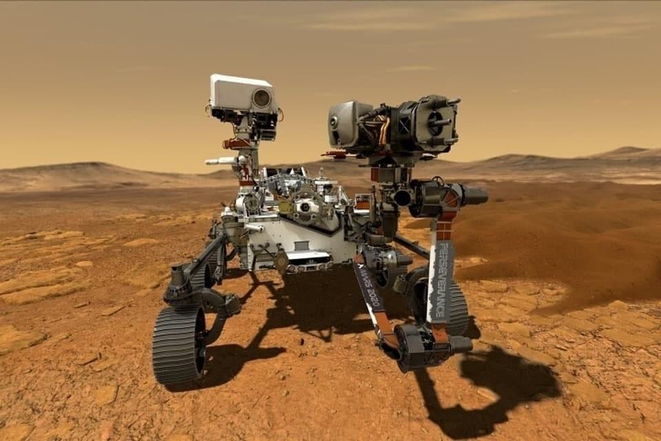 Видео посадки марсохода Perseverance показало NASA