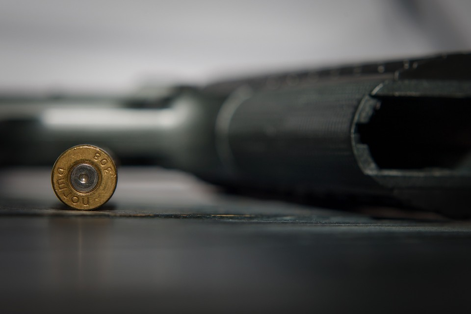 Стрелявший скрылся, но полиция начала его поиски