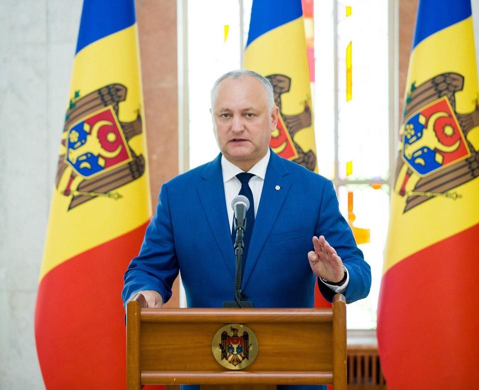 Экс-президент Молдовы Игорь Додон. Фото:соцсети