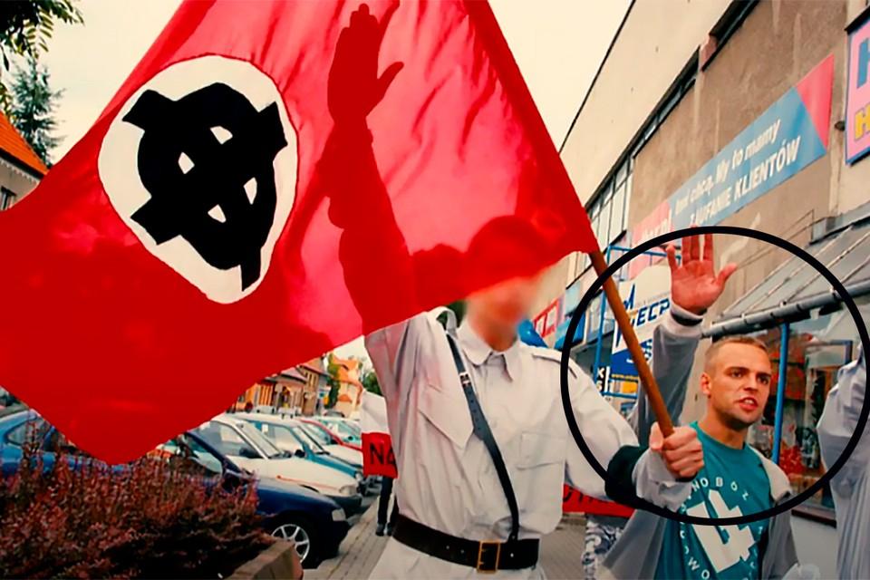 Томаш Гренюх был активным неонацистом.