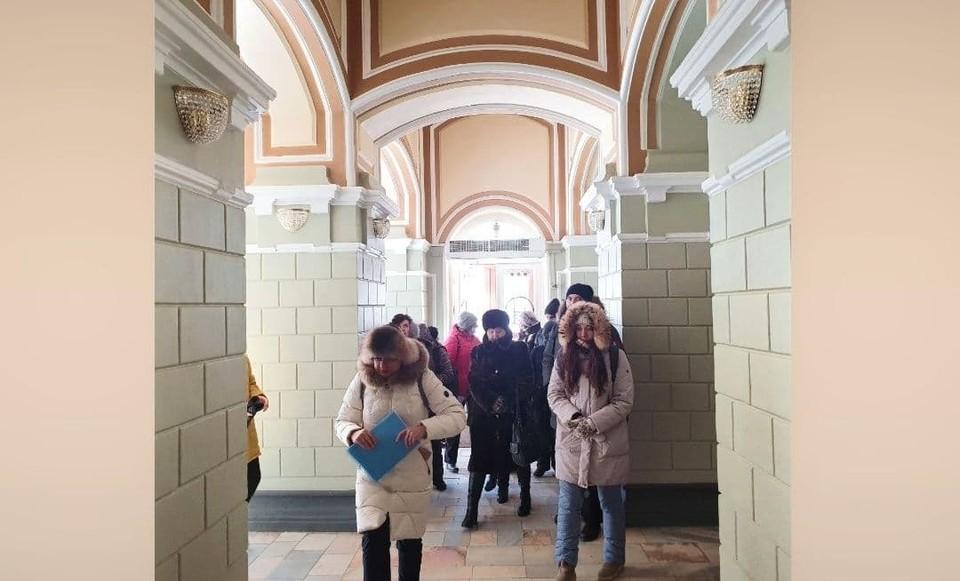 Экскурсия по историческим объектам Нижегородской ярмарки прошла 23 февраля