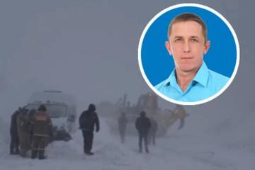 «Спать не хотел, думал о попавших в беду»: машинист бульдозера всю ночь вытаскивал из снега автомобили, застрявшие на трассе в Челябинской области
