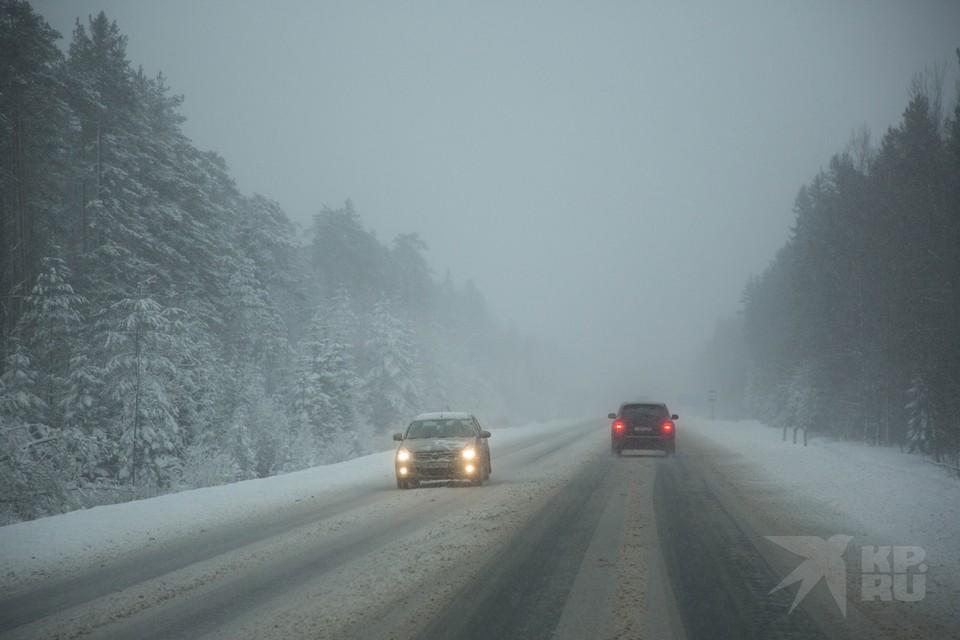 ГИБДД назвала самые опасные участки рязанских дорог из-за потепления.