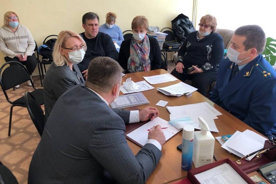 Создана комиссия для расследования причин несчастного случая.Фото министерства образования Саратовской области