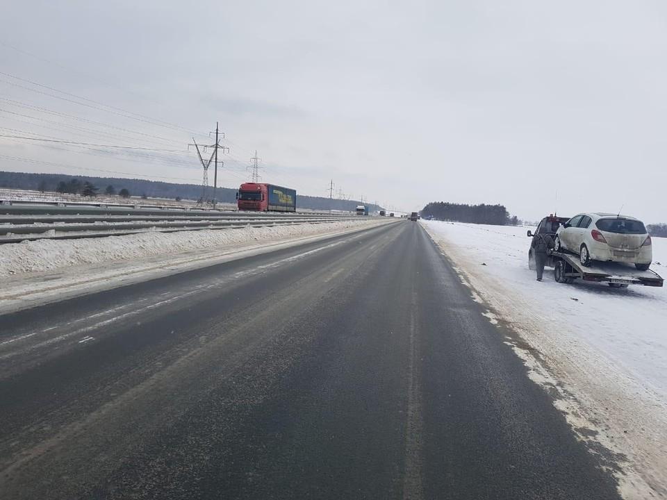 Автомобиль эвакуировали с места происшествия Фото: ГУ МВД по Самарской области