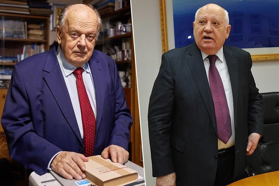 Станислав Шушкевич высказался о Михаиле Горбачеве, который отмечает 90-летие. Фото: МАРТИНЧИК Павел / Виктор ГУСЕЙНОВ