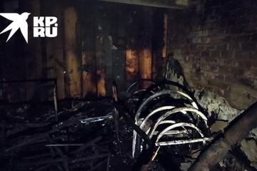 В Тверской области ночью загорелся психоневрологический интернат: погибла женщина