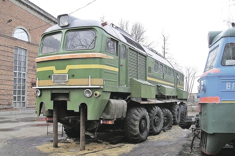 Так выглядела «Машка» - МЗКТ-7919. Фото: Wikimedia Commons