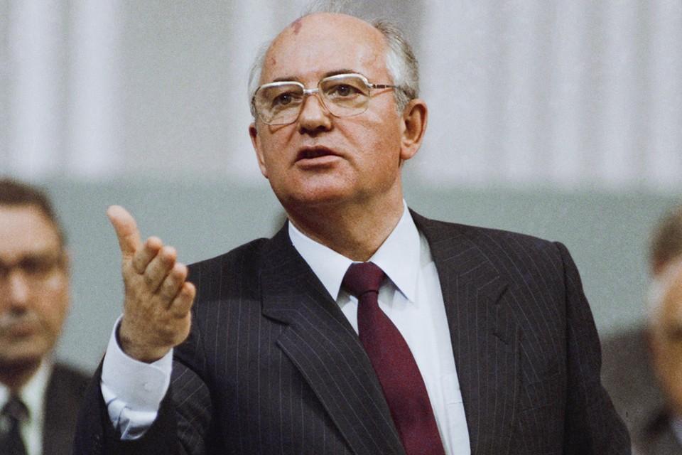 Михаил Горбачев во время выступления, 1983 г. Фото: Лизунов Юрий, Чумичев Александр/Фотохроника ТАСС