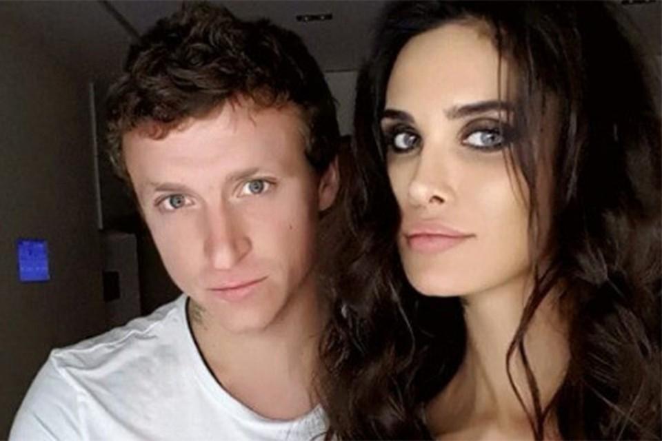 Павел Мамаев с женой Аланой.