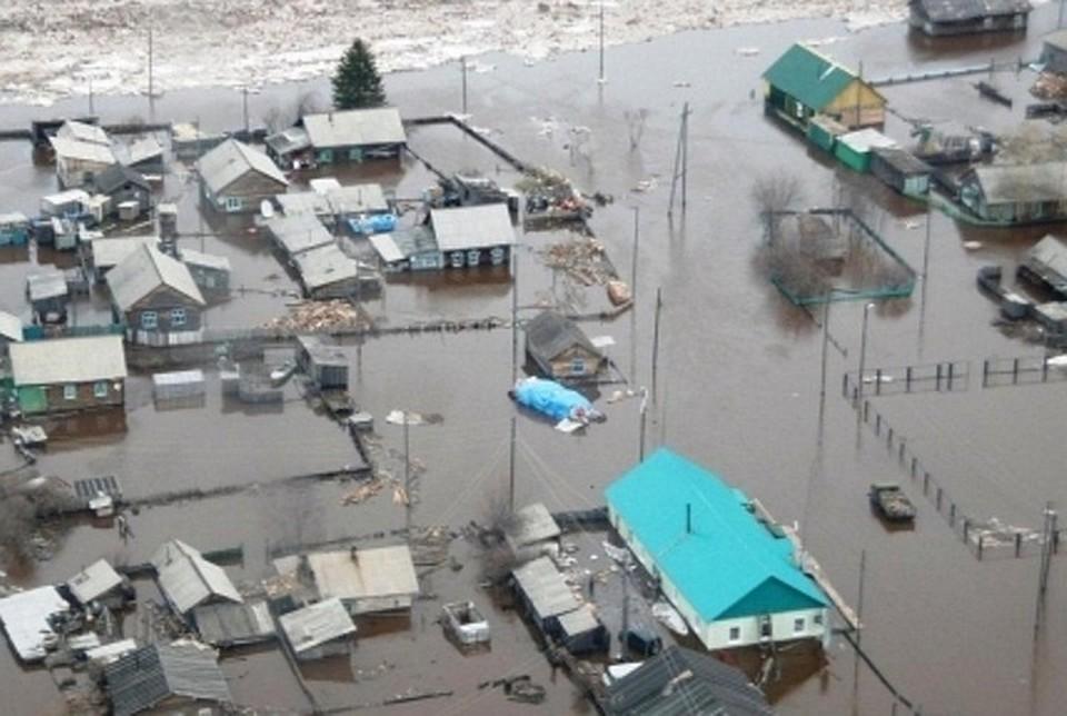 Вот таким бывает весенний паводок в Иркутской области. Фото: архив ГУ МЧС по Иркутской области.